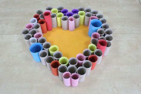 45 Ideas Divertidas Y Originales Para Reciclar Rollos De Papel - Manualidades-con-rollos-papel-higienico