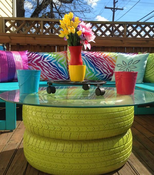 Ideas bonitas recicladas para decorar todo tipo de jardines