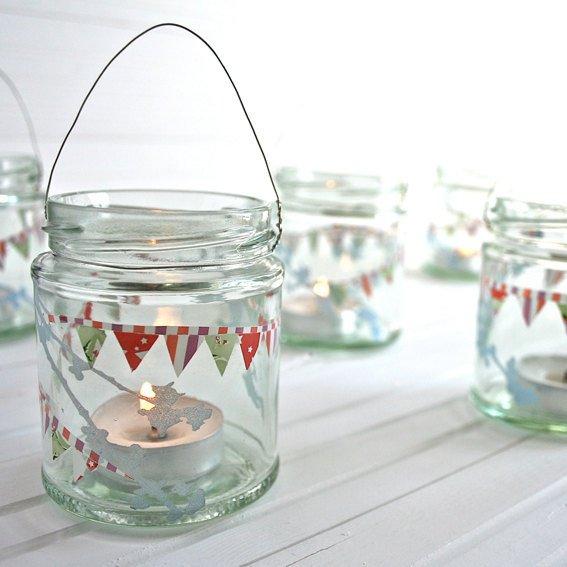 Frascos de vidrio reciclados ideas bonitas y diferentes for Ideas con frascos de vidrio