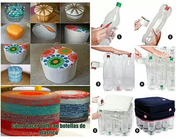 Manualidades con botellas de pl stico recicladas pet for Buenas ideas para el hogar