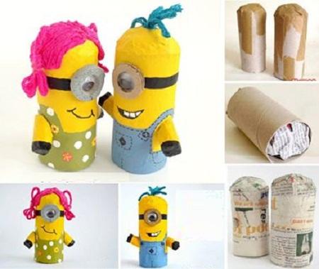 Ideas para Reciclar Tubos de Cartón, Juguetes y Decoración Infantil1