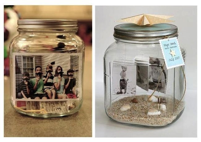 Frascos de vidrio reciclados ideas bonitas y diferentes for Decoracion vintage reciclado