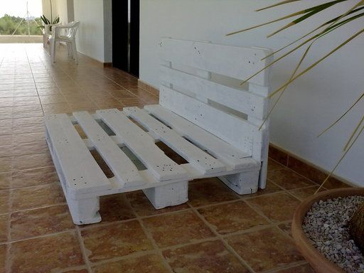 Muebles De Palets Paso A Paso. Imagen Imagen Nos Decoramos Columpio ...