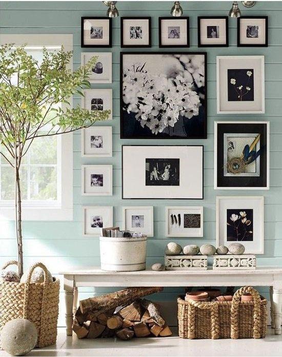 Materiales Para Decorar Paredes Interiores. Ambientes De Interior ...