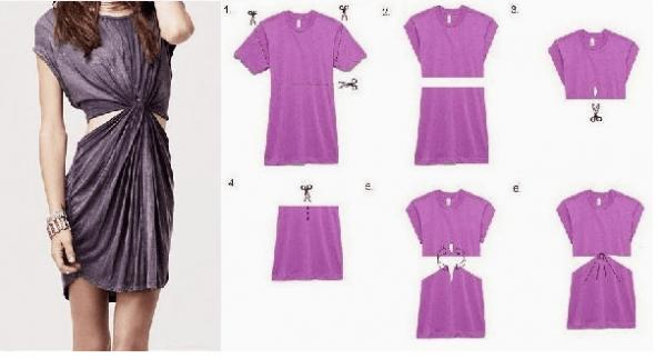 35 ideas para renovar ropa pasada de moda reciclar - Reciclar ropa manualidades ...