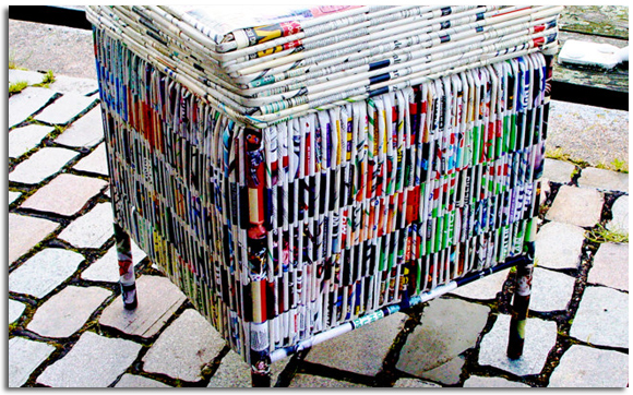 Manualidades Con Papel De Revistas Reciclado Ideas Economicas