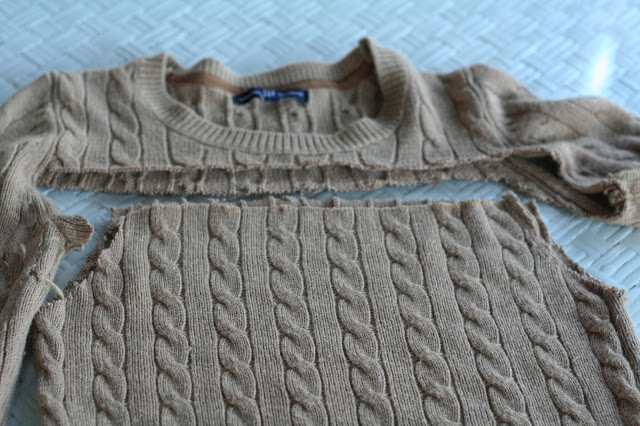 Resultado de imagen para como transformar un sueter a falda