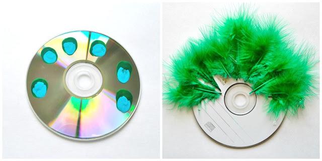 Manualidades De Reciclaje Para Hacer Con Cd S Y Dvd S Manualidades